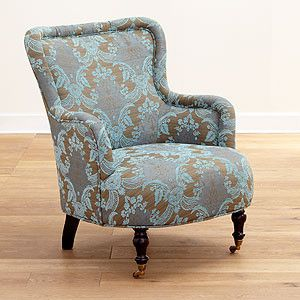 Great #WorldMarketu0027s Venice Paisley Erin Chair Is A Modern Day Classic With A  Hint Of Mid Century Charm. A Tufted Back Gives Way To A Cushy Seat With An U2026 Good Looking