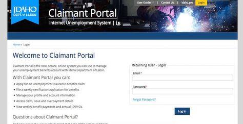 Idaho Unemployment Login Labor Idaho Gov File Online