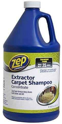 Zep Carpet Extractor Shampoo Shower Tub Bathtub Cleaner Tub Tile