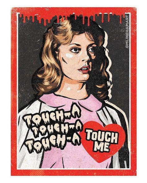 Original Valentines by M. Lineham Art