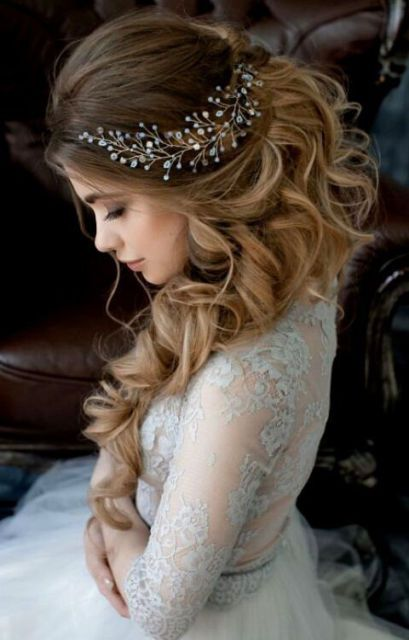 Vintage Wedding Bridal Crystal Pearl Headband Tiara Hair