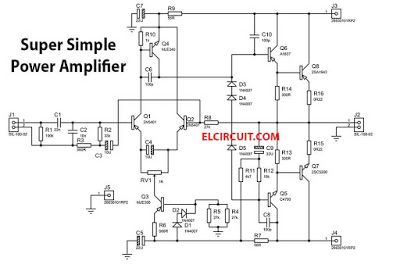 200w super simple power amplifier | power amplifiers, audio amplifier, hifi  amplifier  pinterest