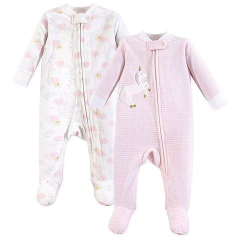 Yoga Sprout Baby-Girls Zipper Sleep N Play Sleepers