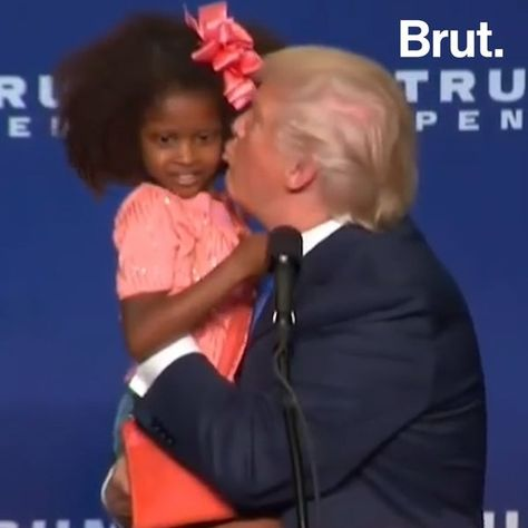Trump's Awkward Moments With Kids