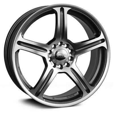 Advertisement Ebay Primax 772 Wheel 17x7 38 5x112 73 1 Machined Single Rim Wheel Rims Volkswagen Cc Wheel