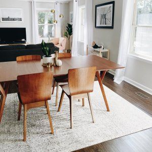 Pin By Caroline Mihill On Quick Saves In 2021 Modern Dining Room Tables Midcentury Modern Kitchen Table Modern Kitchen Tables