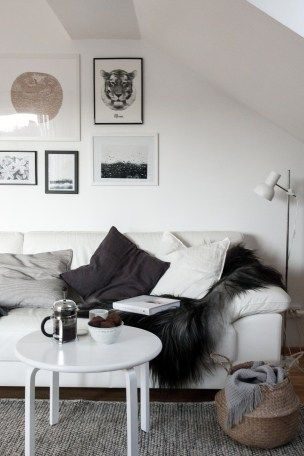 Nordic Inspired Living Room Cosy Interior Design For Small Square Living Space Scandinavia Vs Nord Casual Chic Living Room Chic Living Room Cozy Living Rooms