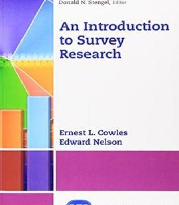 An Introduction To Survey Research Pdf Research Pdf Research