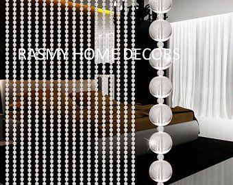 Rasmy Home Decors Customized Crystal Beads Curtain In Arch Shape