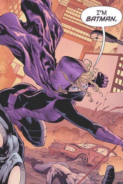 Spoiler: Stephanie Brown in Batman Eternal # 52 - Art by Eduardo Pansica, Robson Rocha, David Lafuente, Tim Seeley, Ray Fawkes, Julio Ferreira, Guillermo Ortego, Tim Seeley, & Ray Fawkes