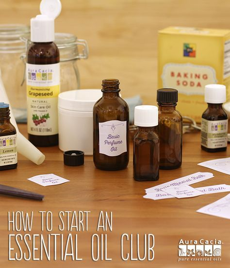Are you new to the world of essential oils? Learn how to create DIY beauty, cleaning and aromatherapy recipes with friends.