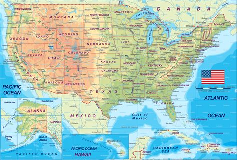 Pix For > Usa Map Wallpaper Hd | United states map ...
