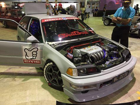 Honda Civic Ef K24 #Kseries #VtecKing | Brunei #BKS #BorneoKustomShow |  Pinterest | Honda Civic And Honda