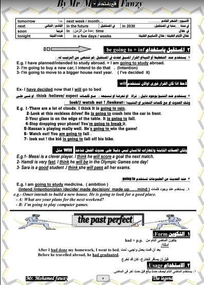 مراجعة نهائية وملخص اللغة الانجليزية للصف الاول الثانوى الترم الثانى ,  لمستر محمد فوزى | How to plan, Study abroad, Secondary