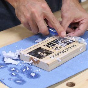 5 Ways To Print On Wood Fixthisbuildthat Transferir Foto A Madera Bricolaje De Artesanía Casera Artesanías Caseras