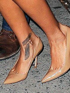 Rihanna Foot Tattoo : rihanna, tattoo, Rihanna, Ankle, Tattoo, Ideas, Tattoo,