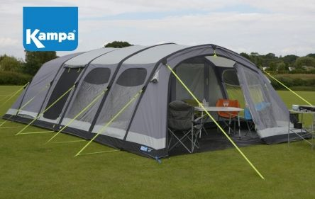 The Kampa Studland 8 Air Pro is the flagship model of the Kampa Air ...