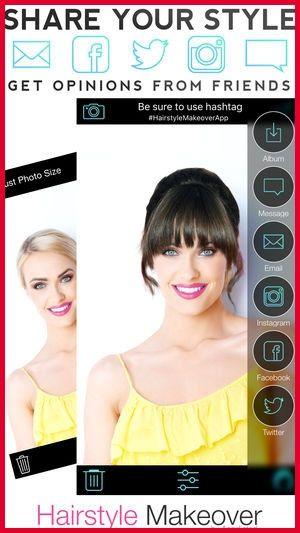 Haarfarbe frisur app