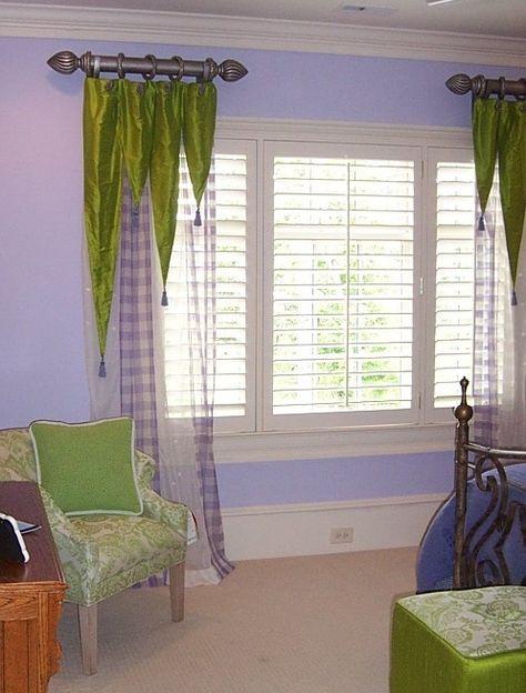 Unique Window Treatment Ideas Pictures 9