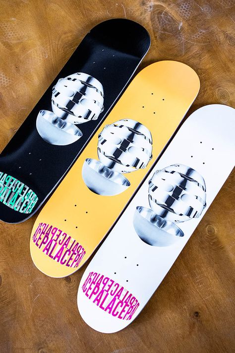 Contemporary Art Palace Skateboards Got You Covered With The New Mhead Series Sk8dlx Skatedeluxe Mit Bildern Skateboard Deck Skateboard