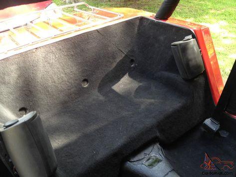 Hummbug Hummer Convertible Kit Car Red Wombat Dune Buggy