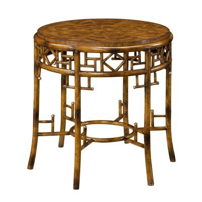Theodore Alexander Indochine End Table Decorative Table Lamps Table Top Lamps Bamboo Lamp