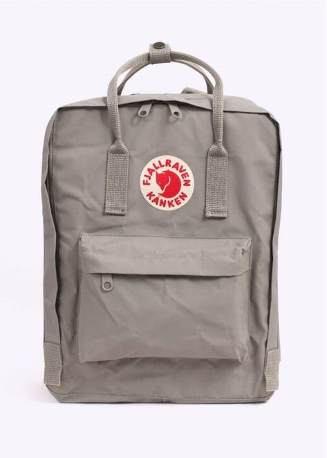 Buy Kanken Backpack - Putty by Fjallraven from our Triads Mens range - Grey, Logo - @ Triads Redesign