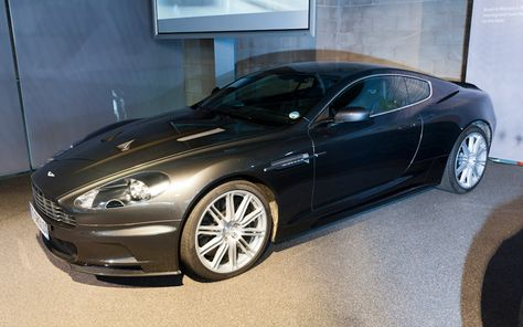 James Bond S Aston Martin Dbs 2008 From Casino Royale And