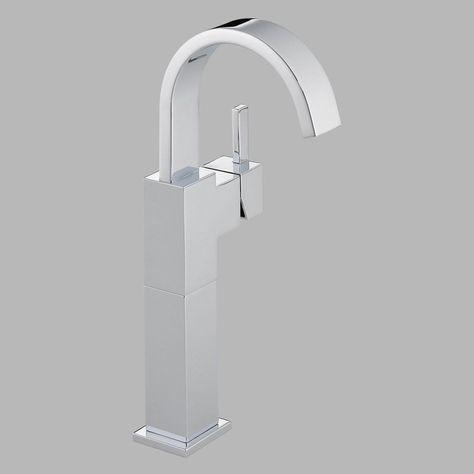 Delta Vero 753lf Single Handle Centerset Bathroom Sink Faucet With