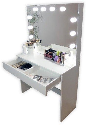 Toaletka Do Makijazu Wizazu Z Oswietleniem Lustro 699 Zl Allegro Pl Raty 0 Darmowa Dostawa Ze Smart Kepno St Fashion Room Room Inspiration My Room