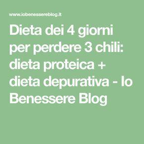 dieta 4 giorni)