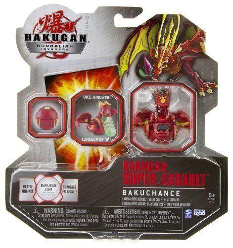 Bakugan Super Assault Bakuchance Colors Vary By Spin Master