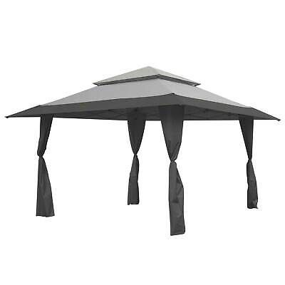 Advertisement Ebay Z Shade 13 X 13 Foot Instant Gazebo Canopy Tent Outdoor Patio Shelter Gray Canopy Tent Outdoor Gazebo Canopy Canopy Outdoor