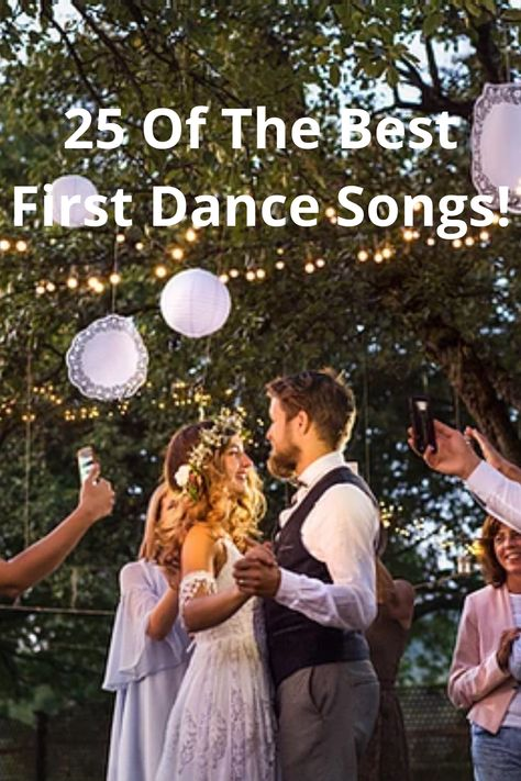 Everyone wants to pick the perfect song to play for the first dance on their wedding day! Finding one that you agree on as a couple isn't always so easy though. #wedding #firstdance ##weddingsong