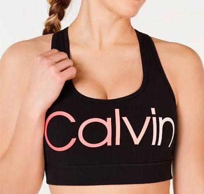 NWT Calvin Klein Pink Bra with Logo