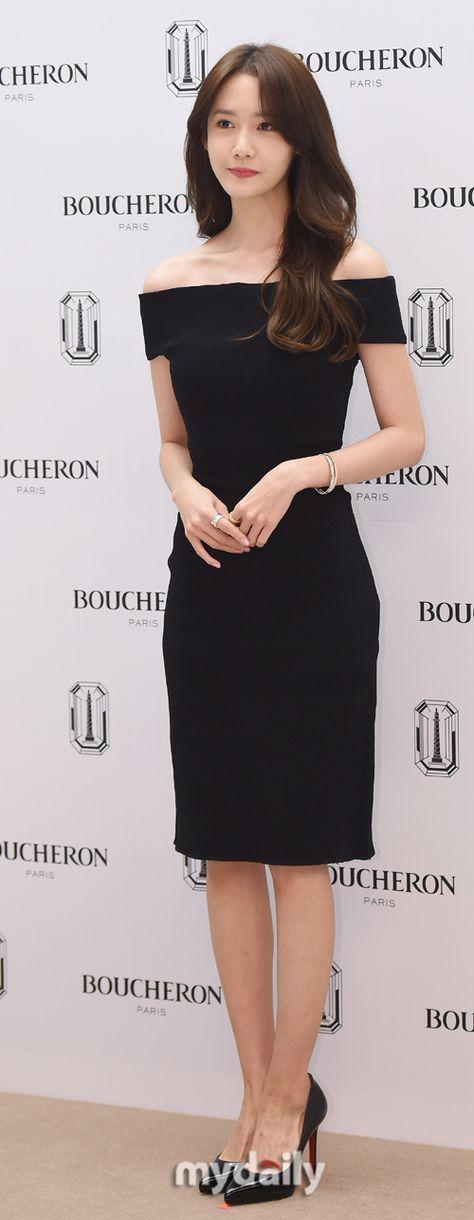 SNSD's pretty YoonA at BOUCHERON's event