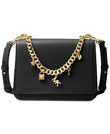 b123ac7033b Image 1 of MICHAEL Michael Kors Mott Large Charm Swag Shoulder Bag ...