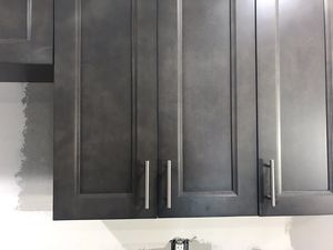 Pin On Grey Kitchen Cabinets