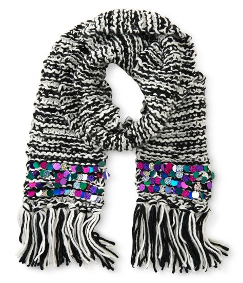 Tween Scarf from P. Aeropostale - love the subtle bling!