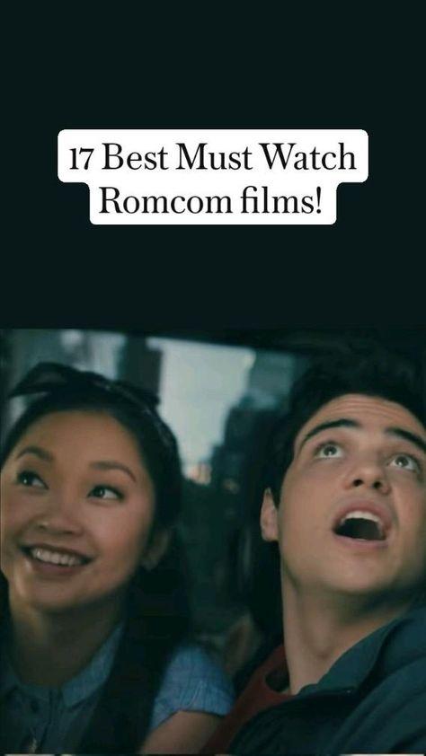 17 Best Must Watch Romcom films! Movie night, Movies to watch.