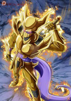 golden dragon dbz