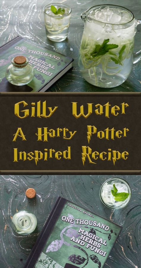 Gilly Water: A Harry Potter Inspired Recipe - Geeks Who Eat