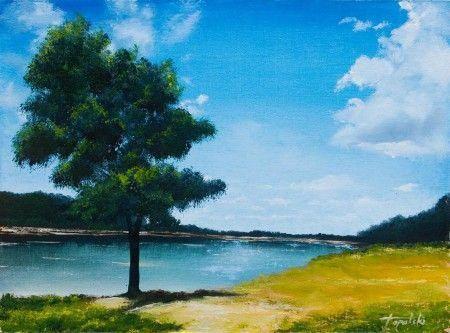 Oil Painting Youtube Oilpaintingeasy Scenery Paintings Oil Pastel Landscape Oil Painting Landscape