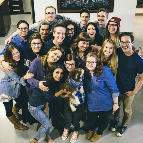 Did you know it's Autism Awareness Month? Here are some Sevenly employees in blue to show support!