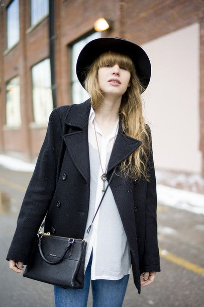just another me shoes coat shirt jeans hat bag