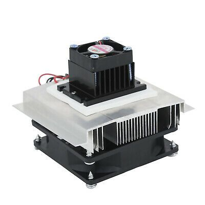 Ad Ebay 12v Diy Semiconductor Refrigeration Thermoelectric Air