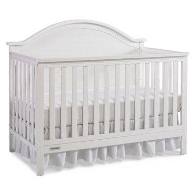 Fisher Price Liam 4 In 1 Convertible Crib Snow White