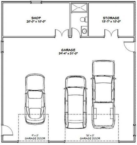 House Design Ideas Floor Plans Car Garage 30 Ideas Garage Design Plans Garage House Plans Garage Plans
