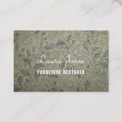 Personalized Ornate Wallpaper Uk Euro Business Card Zazzle
