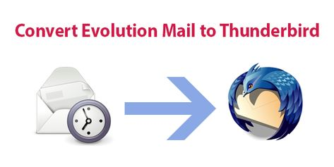 Convert Evolution Mail to Thunderbird Directly with Integrated Email Items